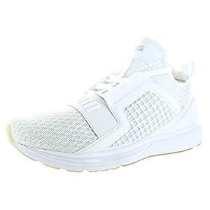 Puma Mens Ignite Limitless Running Shoes - Puma White Size 11