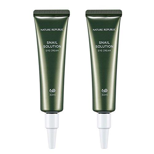 Nature-Republic-Snail-Solution-Eye-Cream-30-Ml-11-Wrinkle-Improvement-Whitening-Brightening-Elasticity-Skin-Intensive-Skin-Care