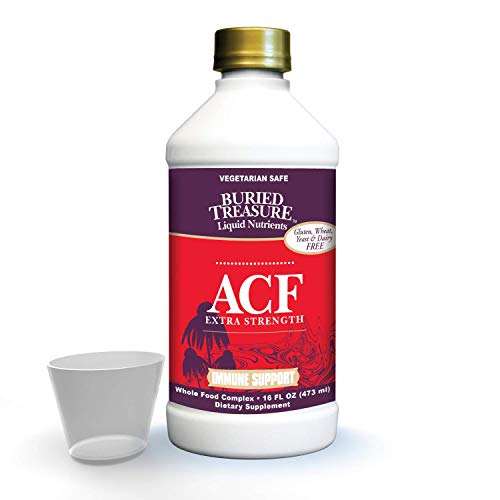 Buried Treasure ACF Extra Strength Advanced Immune Recovery with Vitamin C 1000mg, Elderberry Echinacea Zinc and Herbal…