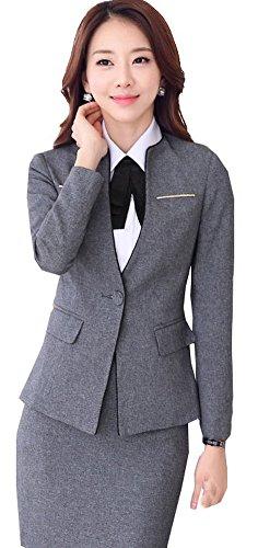 海峡ひも十分ではない登録する(激情女郎)JIQINGNVLANG レディース OL 上質 ビジネス 事務服 スカートスーツ セット パンツスーツ