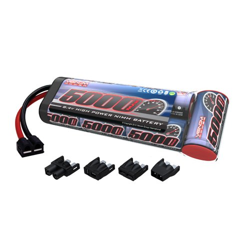 Venom 8.4V 5000mAh 7-Cell NiMH Battery Flat Pack with Univer