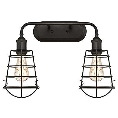 Westinghouse Lighting Oliver Three-Light Indoor Wall Fixture