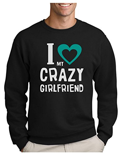 Girlfriend shirts Sweatshirt Couple Noir Homme Green Love I T Turtle St Valentin Crazy My qvcaEAx6w