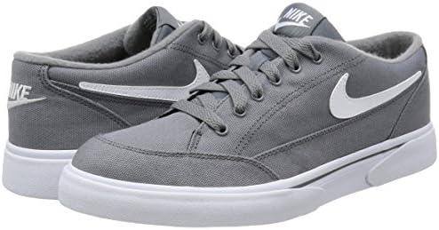 Shop Nike Men's Gts '16 TXT Cool GreyWhite Canvas Shoes