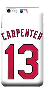 Try Diy Case iPhone 6 case covers, MLB - St. Louis Cardinals Matt Carpenter #13 - iPhone 6 case covers - b9oxM6xXLDp High Quality PC case cover