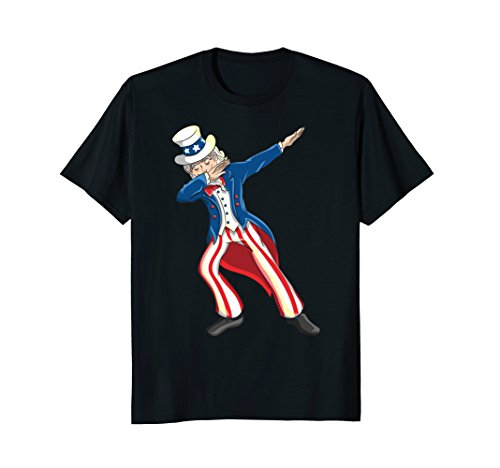 Dabbing Uncle Sam Shirt   4Th Of July Uncle Sam Dab Tshirt