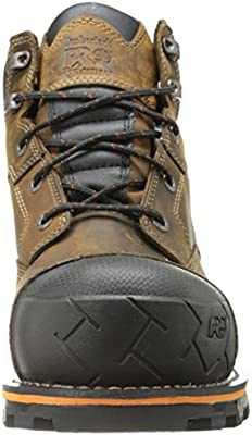 """Timberland PRO Men/'s Boondock 6/"""" Soft Toe Work Boots Brown Leather TB092673214"""