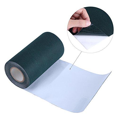 Cinta Adhesiva para Césped Artificial, 5mx 15cm Turf Tape Artificial Césped Artificial Cinta Verde para Césped Cinta...