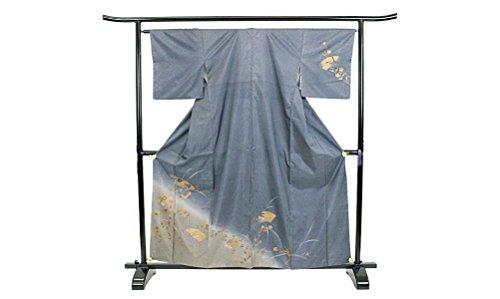 染大島紬 正絹 着物 きもの 金彩 刺繍 袷 和服 和装 リサイクル【中古】 90002941