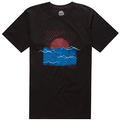 O'Neill Mens Sunrise Short-Sleeve Shirt X-Large Black