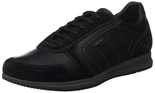 Geox U Avery C, Zapatillas para Hombre Negro (Black)