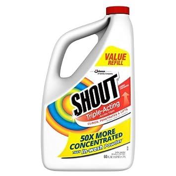 Shout triple-acting líquido, 60 onzas: Amazon.es: Hogar