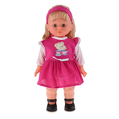 MagiDeal Realistic Silicone Baby Girl Doll Vinyl Lifelike for sale  Delivered anywhere in USA
