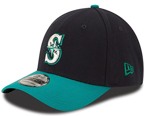 MLB Seattle Mariners Team Classic Alternative 39Thirty Stretch Fit Cap, Blue, Large/X-Large ()