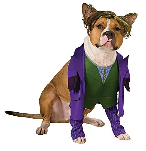 Batman The Dark Knight Joker Pet Costume, -