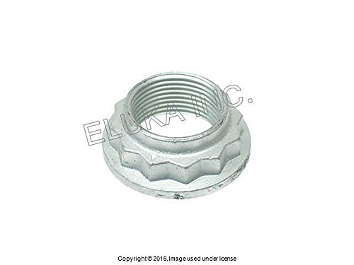 BMW Nut for Wheel Bearing/Axle (24 X 1.5 mm) Rear Left Rear Right E36 E46 E85 E8 318i 318is 320i 323i 325i 325is 328i 320i 323Ci 323i 325Ci 325i 328Ci ()