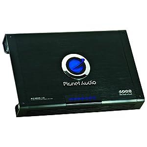 Planet Audio AC4000.1D Anarchy 4000 Watt, 1 Ohm Stable Class D Monoblock Car Amplifier with Remote Subwoofer Control