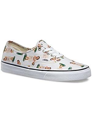 Vans Unisex Authentic Digi Hula Skate Shoes-Digi Hula-5.5-Women/4-Men
