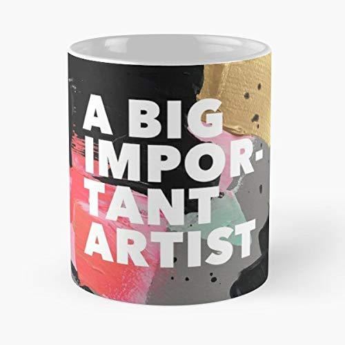 Artist Coffee Abstract Studio - Best Gift Mugs Tea The Jealous Curator Big Important Art Book Mug For ()