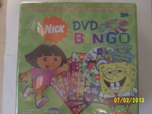 Nick DVD Bingo Hosted by Spongebob Squarepants by -