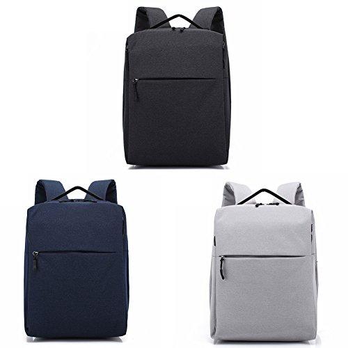 grey Bag Doxungo Men's handle Grey Top B013 nC7xp8xqw