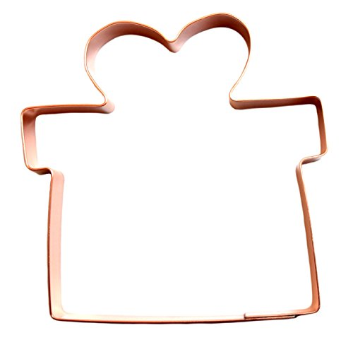Christmas Gift with Bow Cookie Cutter