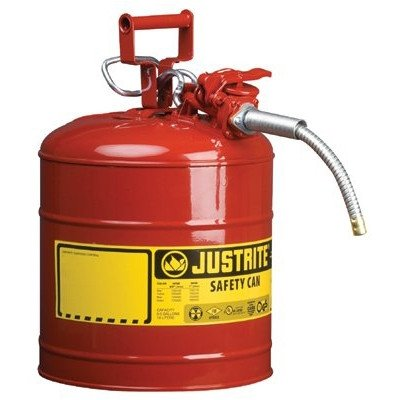 UNO Type ll Safety Cans for Flammables - 1g/4l iiaf red 5/8 hose