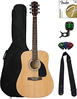 Fender FA-115 Beginner Acoustic Guitar Pack