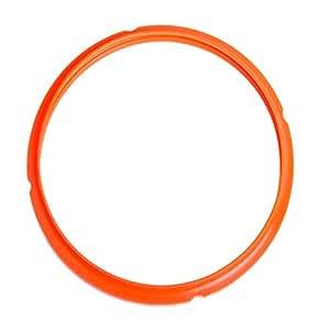Colored Silicone Sealing Ring - Tigerlily Orange