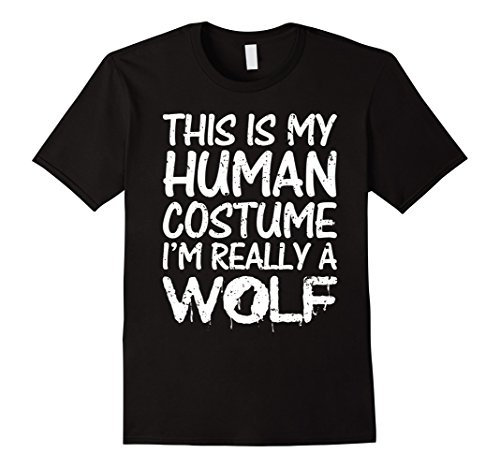 Halloween Wolf Costume Kids (Mens Wolf Halloween Costume for Adults Kids Men Women XL Black)