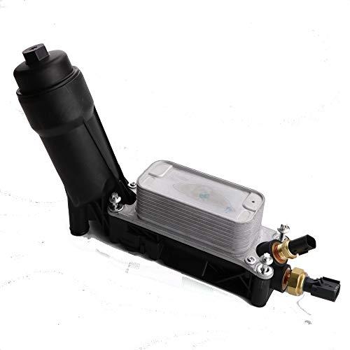 HODEE Engine Oil Filter Adapter Housing For 11-13 Jeep Dodge Chrysler 3.6 V6 OE:5184294AE