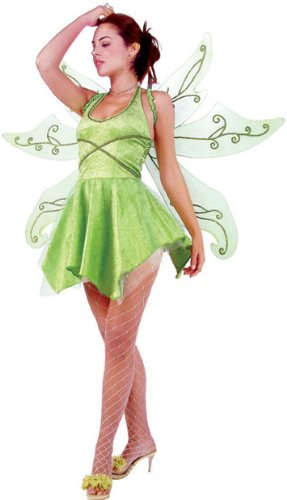 Trixie - Green Fairy w/ Wings 2-4 Costume