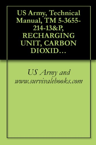 (US Army, Technical Manual, TM 5-3655-214-13&P, RECHARGING UNIT, CARBON DIOXIDE RECIPROCATING PUMP, ELECTRIC MOTOR DRIVEN, AC, 115 V, SINGLE PHASE; 60 HZ, ... AND (MODEL 12681-7) (3655-01-004-9873))