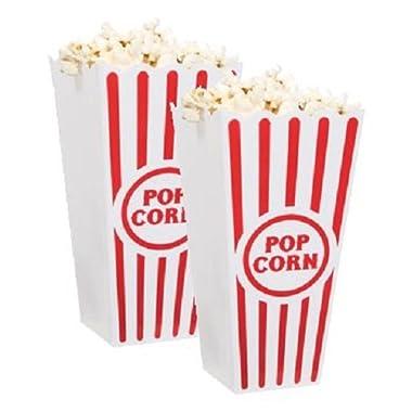 Plastic Popcorn Containers (6)