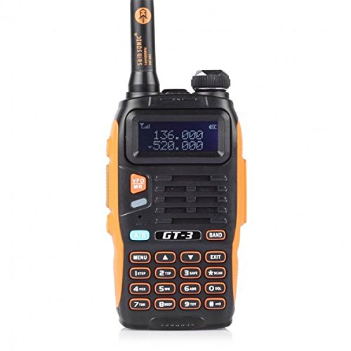 BaoFeng Extra Battery Additional Free FM Radio, Dual Band Chipsets Upgraded, ABS Frame