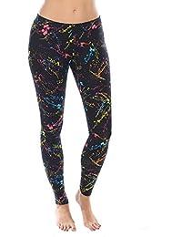 X80® Neon Splatter Leggings Women's