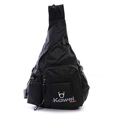 DDDH Large Sling Bag Riding Hiking Bag Nylon Single Shoulder Backpack For Men Women