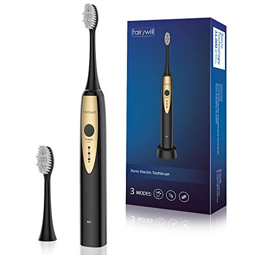 Fairywill Sonic Electric Toothbrush, Ult...
