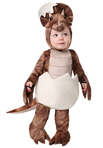 Infant Tiny Dinosaur Costume - Triceratops 6/9