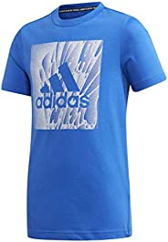 adidas Must Haves Box Tee, S/P, Blue