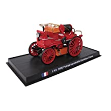 Pompe Automobile Electrique France - 1900 diecast 1:43 fire truck model (Amercom SF-6)
