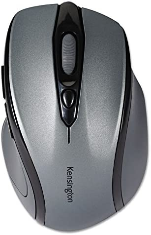 Kensington Pro Fit Mid-Size Wireless Mouse Graphite Gray KMW72423