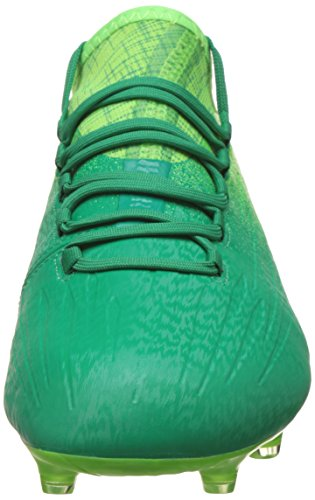 adidas X 16.1 Fg, Scarpe per Allenamento Calcio Uomo, Verde (Versol/Negbas/Verbas), 42 EU