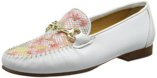 Van Dal Putnam, Mocassins Femme Multicolore (White/Tropical)