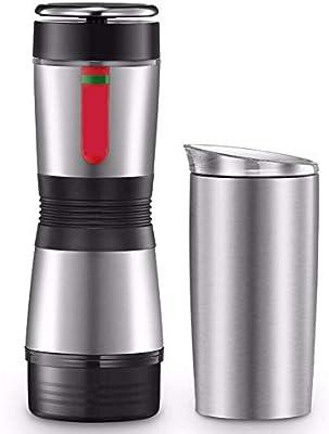 Kylinxsw Fabricante de Espresso portátil, con el Acero Inoxidable ...