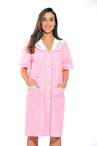 fea2cbd02ef8 Dreamcrest Short Sleeve Duster/Housecoat/Women Sleepwear ...