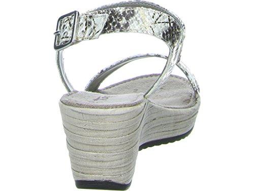 Tamaris Größe 40, Farbe grau
