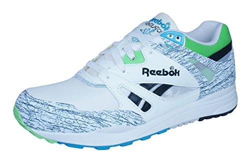 Reebok Classic Ventilator Vintage Mens Trainers / Shoes - White White