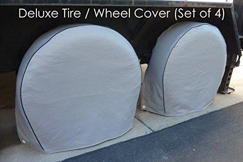 jeep tire cover saints - 1
