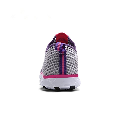 Water Grey Drying Mesh Robesbon Shoes Aerobics amp;purple Womens Quick wxIzw7qfT